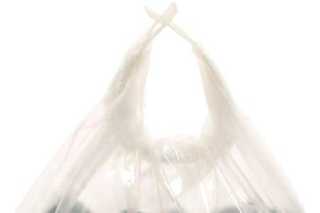Håndtak av plast til sekker