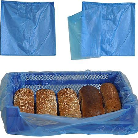 Sekkene leveres i flere kvaliteter, hvit, klar eller blåtonet plast.