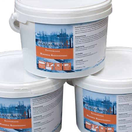 Baca tettemasse er en del av et radonsystem som er spesialutviklet for å oppnå optimal radonbeskyttelse.