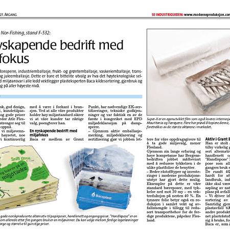 Nyheter om miljøsamarbeid innen plastfolieretur med Grønt Punkt Norge