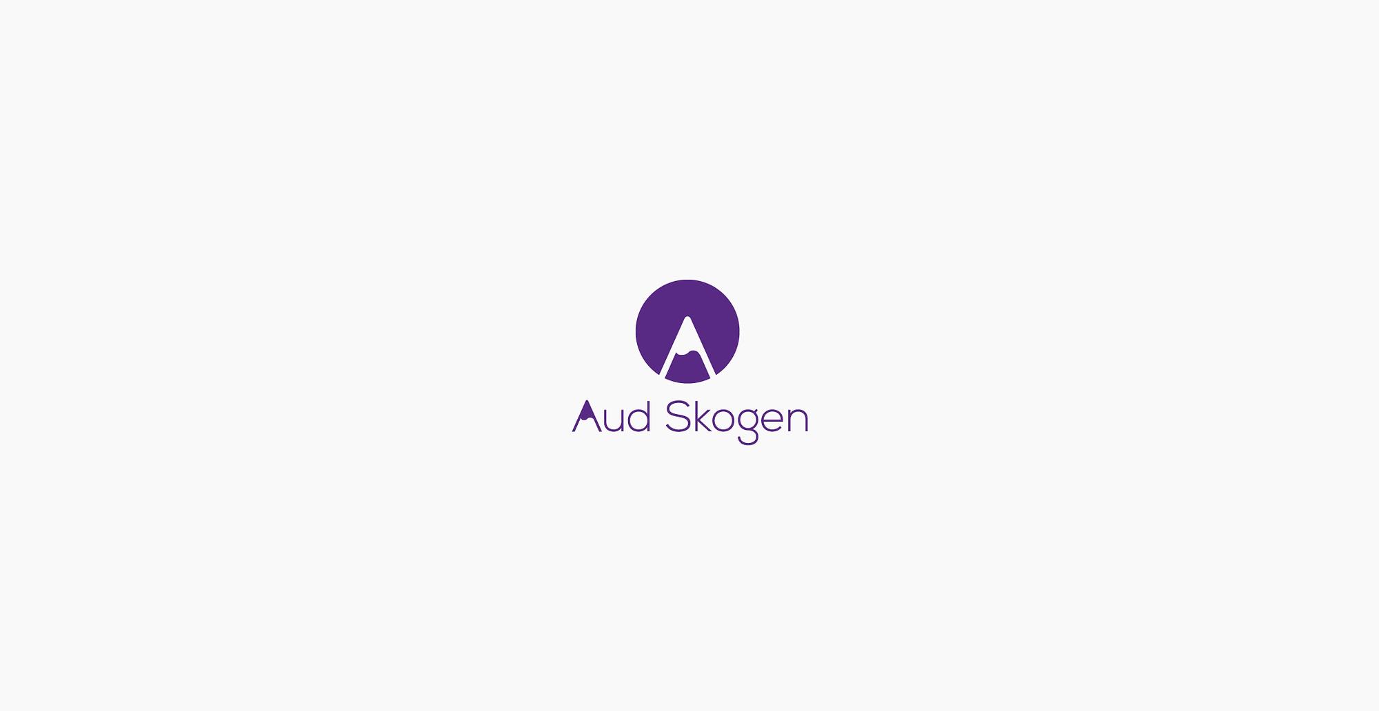 Logo designe for Aud Skogen