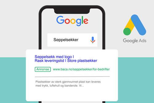Google Ads eller AdWords- annonsering bør utvikles parallelt med nettsiden, det er tross alt destinasjonen til annonsene