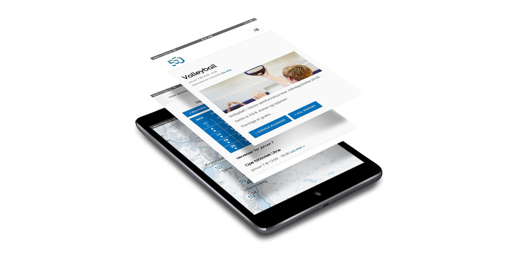 Web design av reklamebyrå på vestlandet
