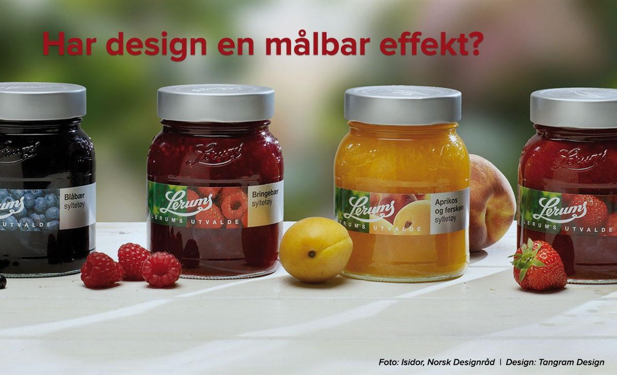 Nytt produkt med ny design og ny innpakning fører til økt salg