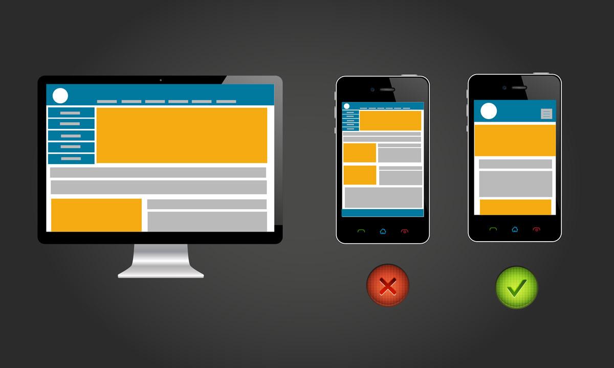 mobilvennlige sider løftes oppover på rangeringen når du søker etter noe