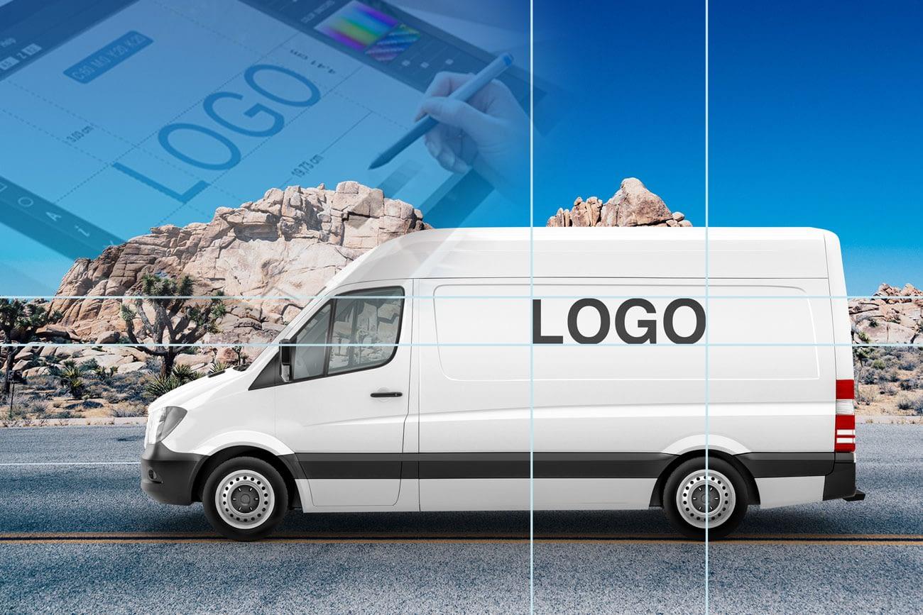 Design plassert på kjøretøy er en kostnadseffektiv reklameplass. Du får bevegelige reklameplakater i nærmiljøet som signaliserer hva virksomheten er og hva den står for.