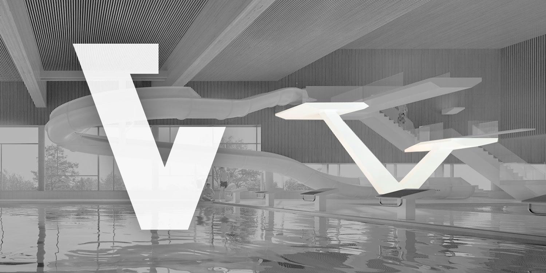 Konsept på V ikon for - Designet av Snittreklame Byrå