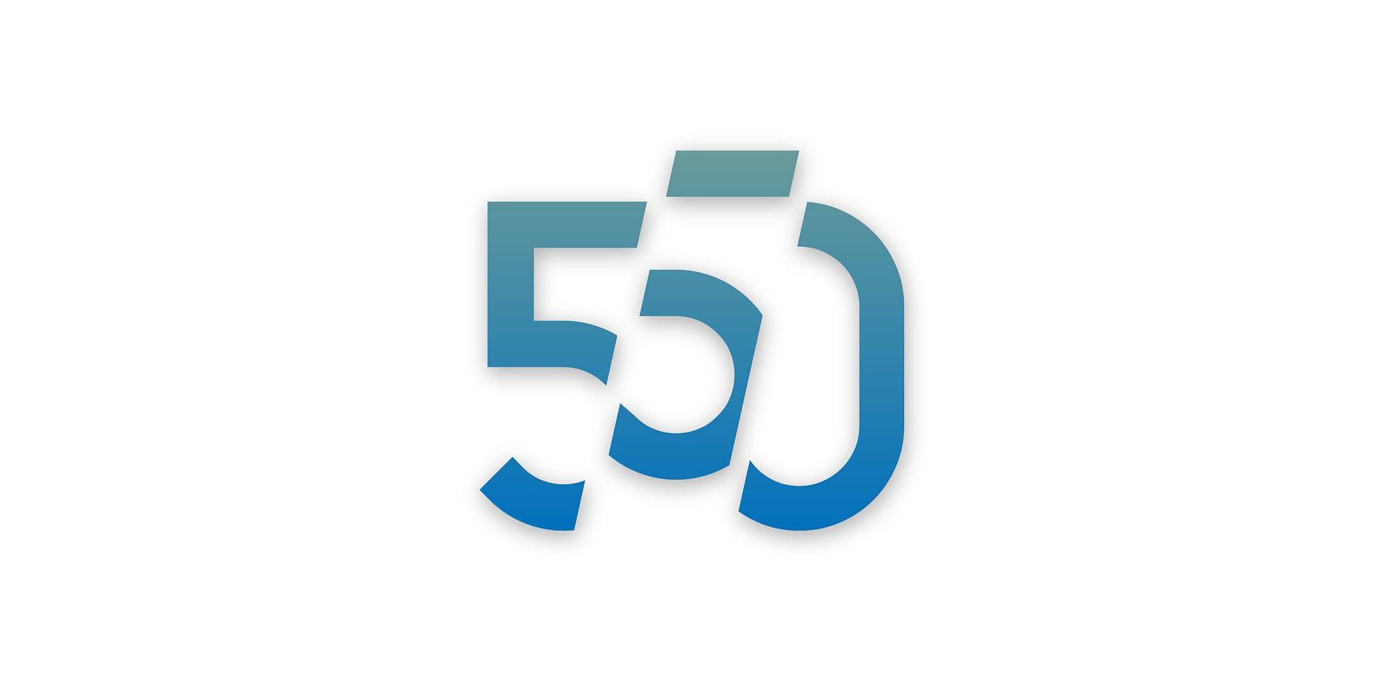 550 logo - Logo design utført av reklamebyrå i Bergen og på Voss