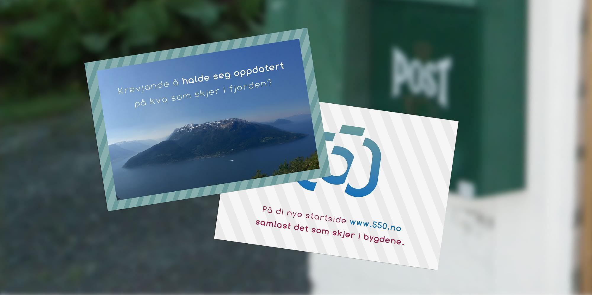 Norsk natur på sitt beste - Designet av Snitt Reklamebyrå i Bergen og på Voss