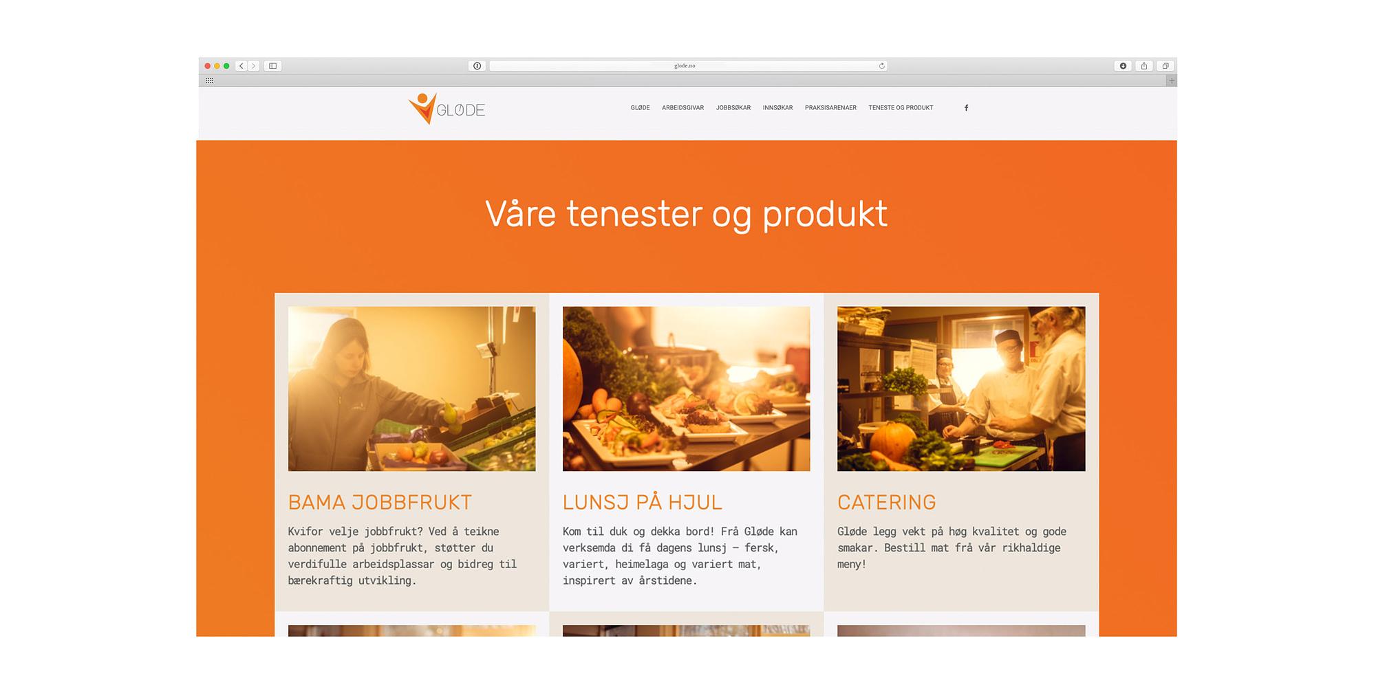 Nytt design av hjemmeside for Nordhordlandsbedrift