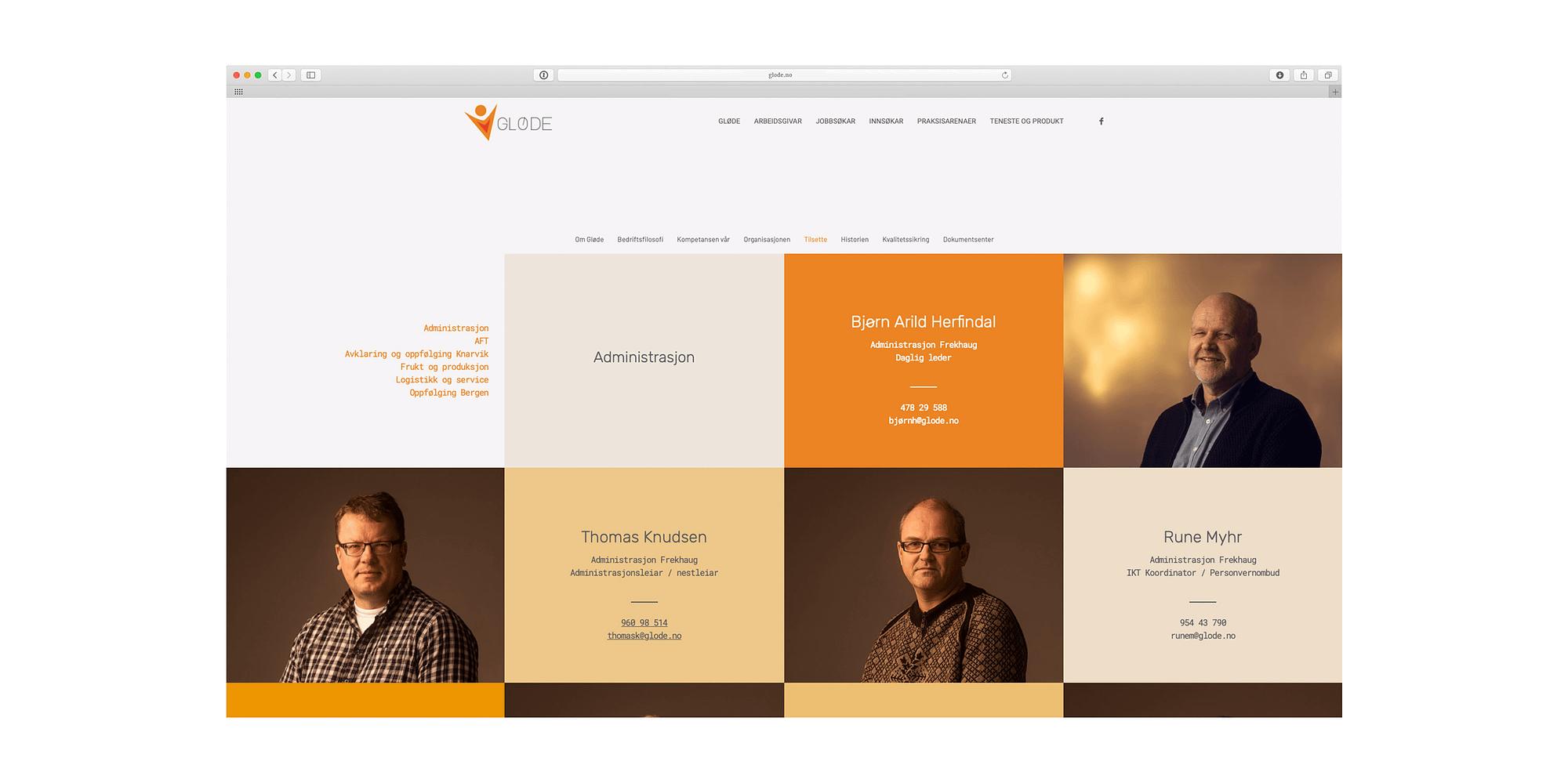 Nytt design av nettstad for Nordhordlandsbedrift