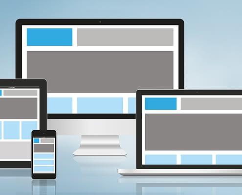 Nettsider skaleres og tilpasser seg iPhone, Ipad og andre mobilet enheter